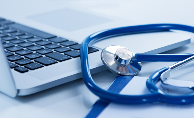 health care professionals computer technology